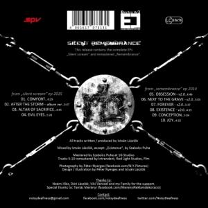 Cover Noisy Deafness - Silent Remembrance (digital) hinten